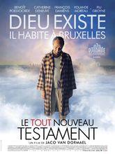 Plakat filmu Zupełnie Nowy Testament