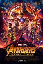 Plakat filmu Avengers: Wojna bez granic