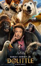 Plakat filmu Doktor Dolittle