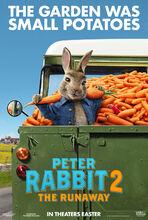 Movie poster Piotruś Królik 2: Na gigancie